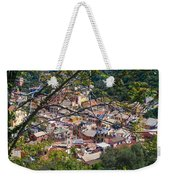 Monterosso From Above - Cinque Terre Weekender Tote Bag