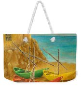 Monterosso On Riviera Di Levante Weekender Tote Bag
