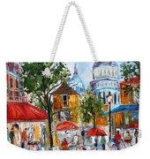 Montmartre Paris Weekender Tote Bag