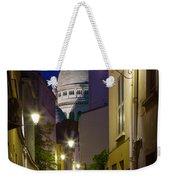 Montmartre Street And Sacre Coeur Weekender Tote Bag