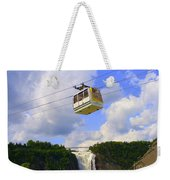 Montmorency Falls And Gondola Weekender Tote Bag