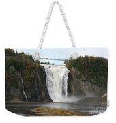 Montmorency Waterfall - Canada Weekender Tote Bag