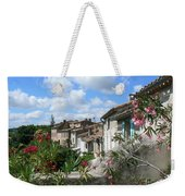French Hilltop Terraces Weekender Tote Bag by France  Art