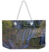 Montour Falls Fall Panorama Weekender Tote Bag