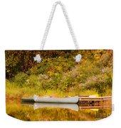Montpelier Canoe Weekender Tote Bag by Deborah Benoit