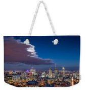 Montreal By Night Weekender Tote Bag