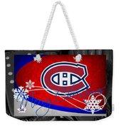 Montreal Canadiens Christmas Weekender Tote Bag