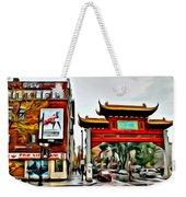 Montreal China Town Weekender Tote Bag