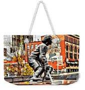 Montreal Hockey Lady Weekender Tote Bag