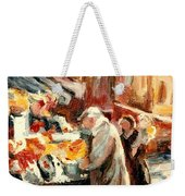 Montreal Market Scene Marche Atwater Weekender Tote Bag