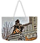 Montreal War Horse Weekender Tote Bag
