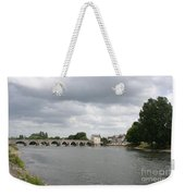 Montrichard Bridge Over Cher River Weekender Tote Bag