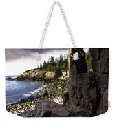 Monument Cove Sunrise 4984 Weekender Tote Bag