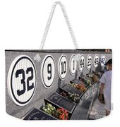 Monument Park -  Yankee Stadium Weekender Tote Bag
