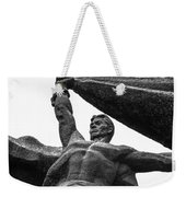 Monument To The People 0131 - Textured Pencil Weekender Tote Bag
