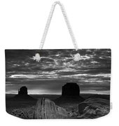Monument Valley 001 Weekender Tote Bag