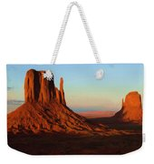 Monument Valley 2 Weekender Tote Bag