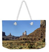 Monument Valley Arizona State Usa Weekender Tote Bag