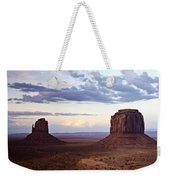 Monument Valley At Sunset Weekender Tote Bag