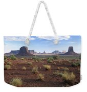 Monument Valley From North Window Weekender Tote Bag