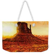 Monument Valley Weekender Tote Bag by Mo T