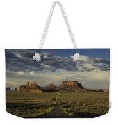 Monument Valley Panorama Weekender Tote Bag