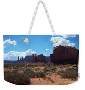 Monument Valley Scenic View Weekender Tote Bag
