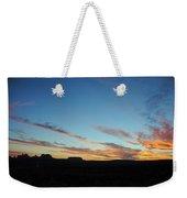 Monument Valley Sunset 2 Weekender Tote Bag
