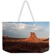 Monument Valley Sunset Weekender Tote Bag