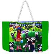 Moo Cow Farm Weekender Tote Bag