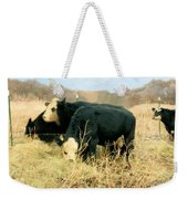 Moo Cow Munch Weekender Tote Bag