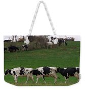 Moo Train Weekender Tote Bag