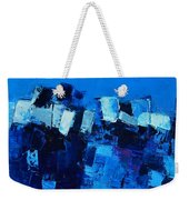 Mood In Blue Weekender Tote Bag