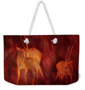 Moods Of Africa - Gazelle Weekender Tote Bag