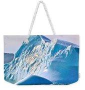 Moody Blues Iceberg Closeup In Saint Anthony Bay-newfoundland-canada Weekender Tote Bag