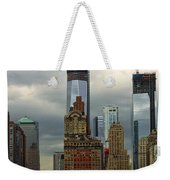 Moody City Weekender Tote Bag
