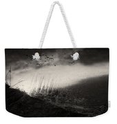 Moody Sunrise With Grasses And Birds Weekender Tote Bag