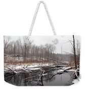 Winter's Moods Weekender Tote Bag