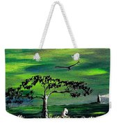 Moomintroll And Lighthouse Weekender Tote Bag