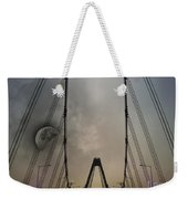 Moon And A Bridge Weekender Tote Bag