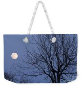 Moon And Bare Tree Weekender Tote Bag