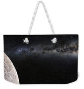 Moon And Galaxy. Weekender Tote Bag