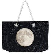 Moon And Startrails Weekender Tote Bag