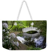 Moon Bridge Weekender Tote Bag