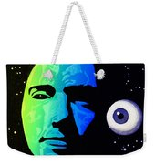 Moon Eye Bi Color Weekender Tote Bag