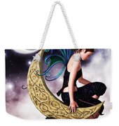 Moon Fairy Weekender Tote Bag