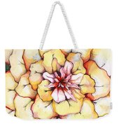 Moon Flower Out Of The Bloomers And Onto The Bloom Weekender Tote Bag