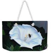 Moon Flower Weekender Tote Bag