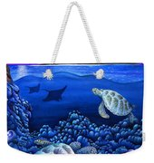 Moon Glow Weekender Tote Bag by Carolyn Steele