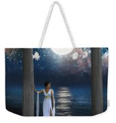 Moon Goddess Weekender Tote Bag
